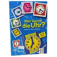 Ravensburger 244454 Wer kennt die Uhr?