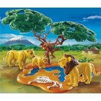 PLAYMOBIL® 4830 - Löwenfamilie mit Affenbaum